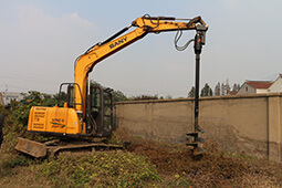 Hydraulic Earth Auger for 20T Excavator.JPG