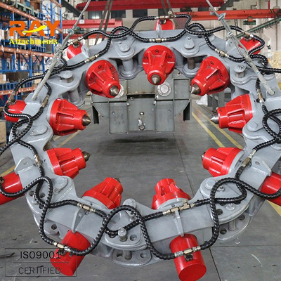 hydraulic cutter pile breaker cutter, cutting quantity 60/8h, excavator parts, high efficiency