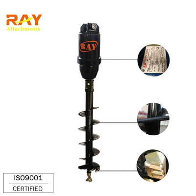 REA5000 model Earth Auger for excavator attachments