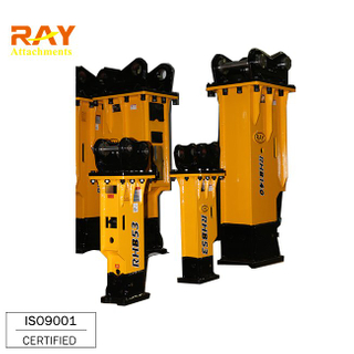 China Hydraulic Breaker / Box Type Rock Hammer for 20 ton class Excavator