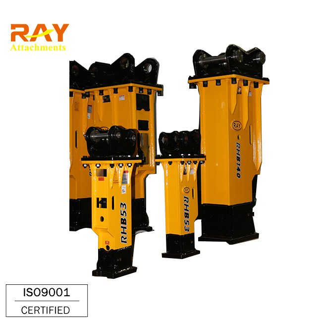 RHB53 hydraulic rock breaker prices for mini excavator