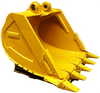 high durable excavator bucket with 1.3m3 bucket capacity for sale