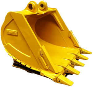 crawler excavator bucket capacity OEM, different teeth types