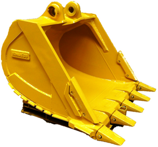 excavator bucket drawing E320C BUCKET in Construction Machinery Parts