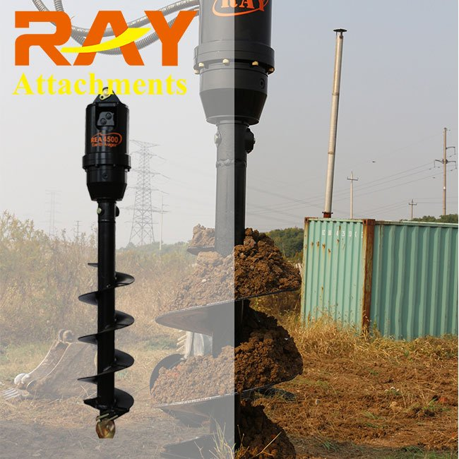 REA2000-20000 model hydraulic motor Earth Auger drilling