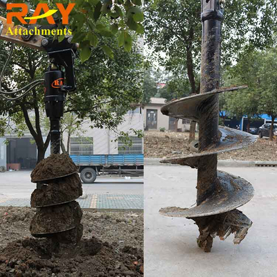 REA3000 Earth Auger drill for Excavator