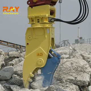 Mechanical pulverize for excavator