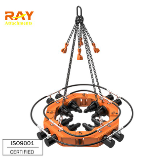 excavator attachment hydraulic square concrete pile cutting machine