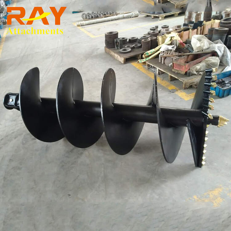 REA3000model Earth Auger for 2-3.5T Excavator