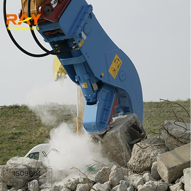 excavator spare parts crusher for construction equipment