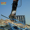 scrap metal shear for excavator used