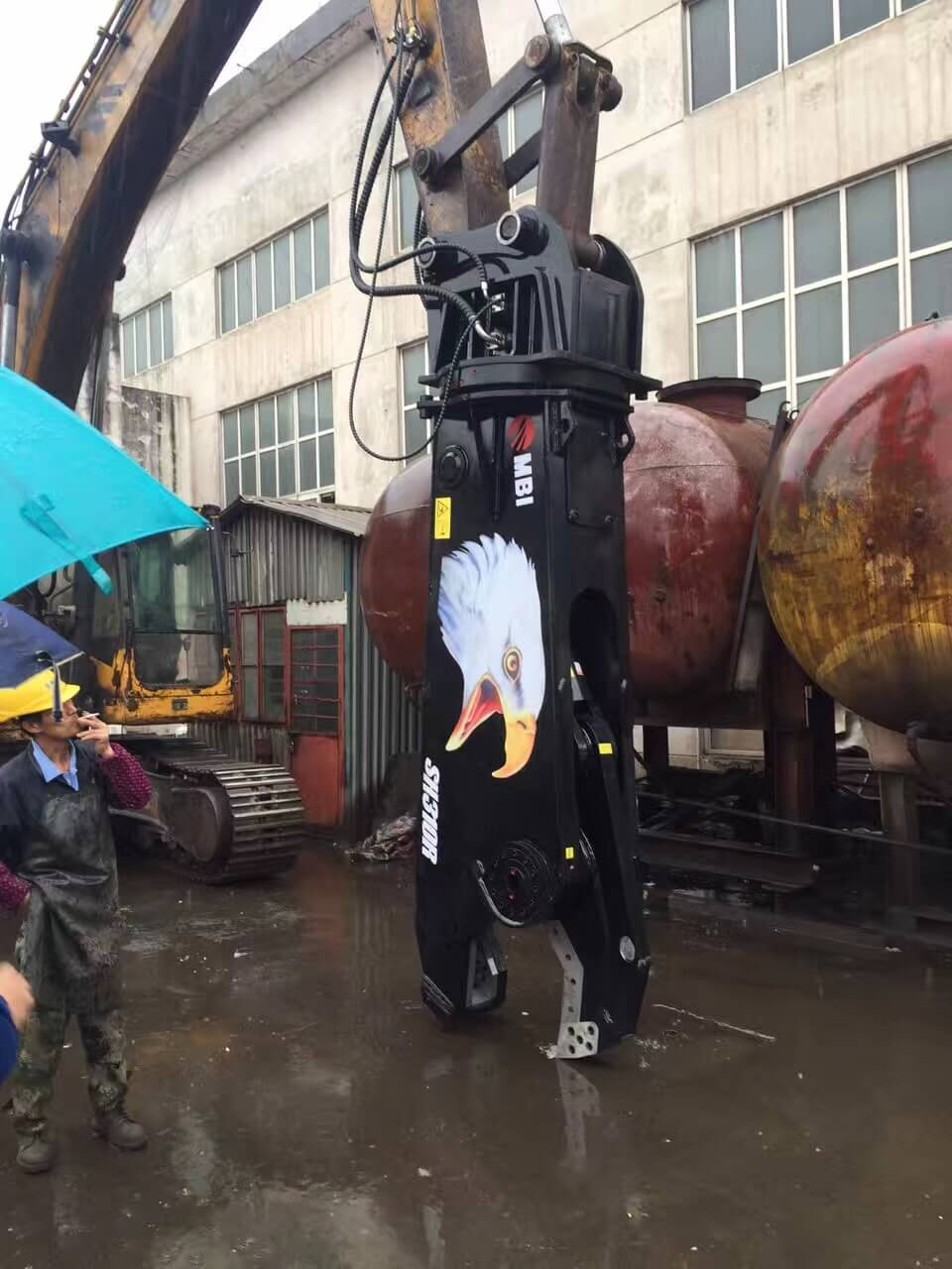 SH180R 2018 China new product excavator hydraulic shears