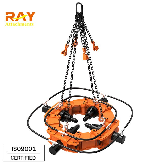 square shaped pile breaker cut pile machinery for round concrete piles