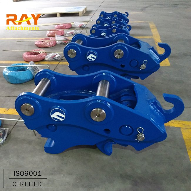 Trade Assurance China Supply Automatic Quick Hitch Coupler for Excavator