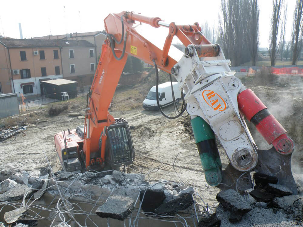 Hydraulic Crusher For Cement pile