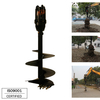 REA2500 model Earth Auger for 1.5-3T Excavator