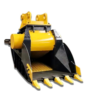 Concrete Jaw Hardox Stone Asphalt Concrete Crusher Bucket for 20-40T Excavator