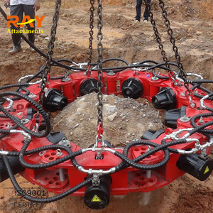 excavator attachment hydraulic concrete breaker cutting machine for round pile
