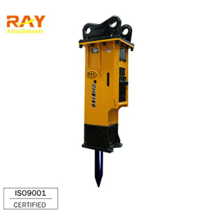 Export to Japan Hydraulic rock breaker with 100mm tool