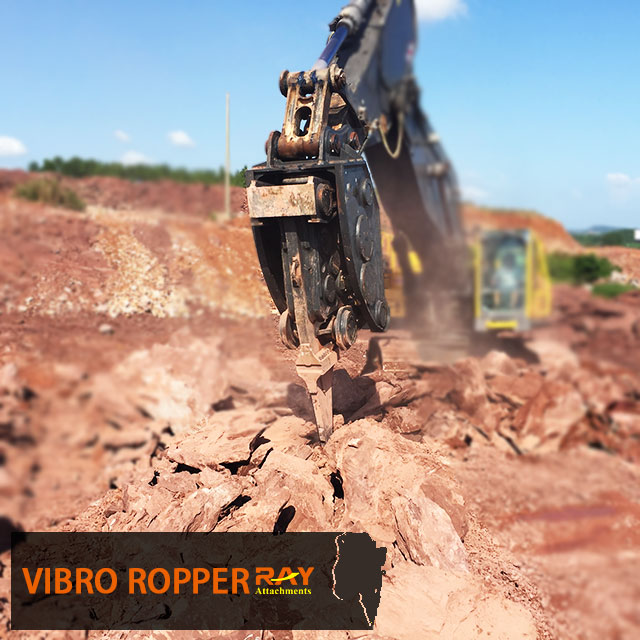 What you should pay attention when you use vibro ripper ?
