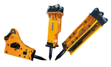 Hydraulic breaker types