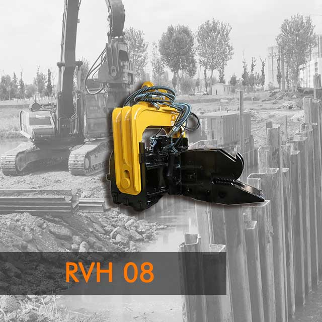 RVH08 Side Grip Vibratory Hammer