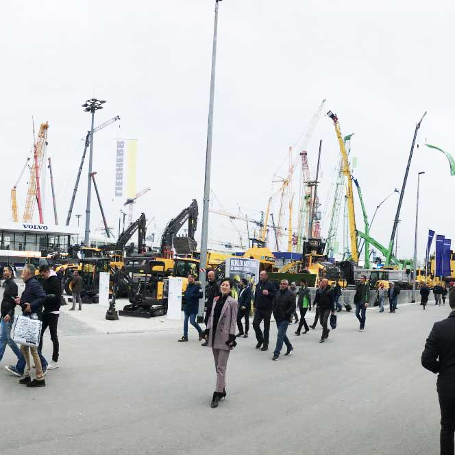 RAY ATTACHMENTS Visited at BAUMA Munich 2019