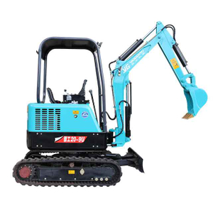 RAY Zero Swing And Triple Pump Joystick Operation Mini Excavator
